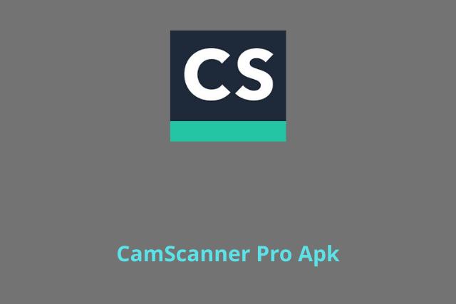 CamScanner Pro Apk 2020