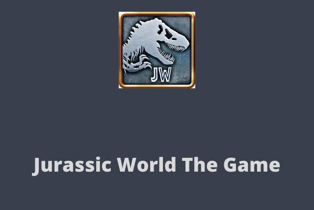 Jurassic World Mod Apk 2020
