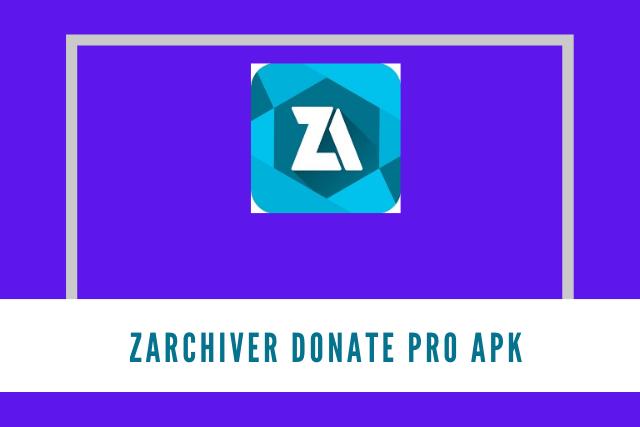 ZArchiver Donate Pro Apk 2021