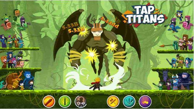Tap Titans 2 Mod APK 2021